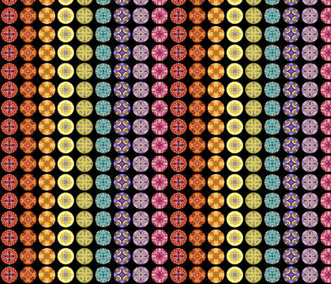 Rainbow Disks fabric by siya on Spoonflower - custom fabric