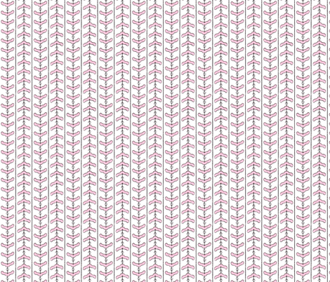 Clotheshanger Chevron fabric by tuppencehapenny on Spoonflower - custom fabric