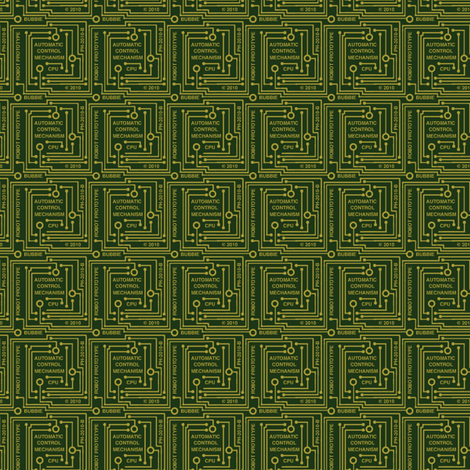 circuit board fabric by weavingmajor on Spoonflower - custom fabric