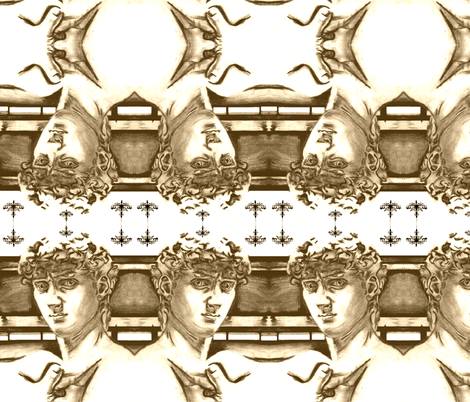 David fabric by dorolimited on Spoonflower - custom fabric