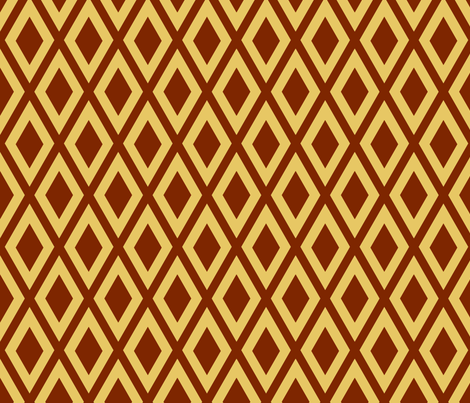 Ruby's Diamonds fabric by siya on Spoonflower - custom fabric