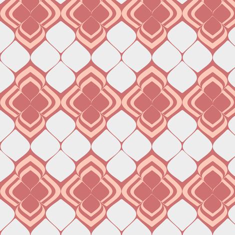 Peach Petals fabric by delsie on Spoonflower - custom fabric