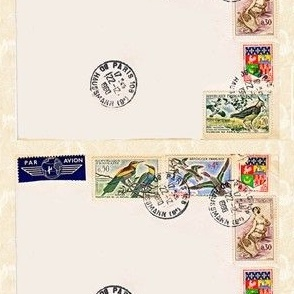 French Postage Greeting