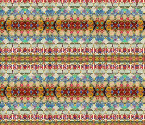 Quetzalcoatl's Coat fabric by patternbase on Spoonflower - custom fabric