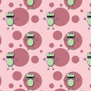 Robo Dino Pink