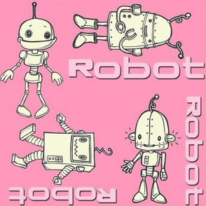 robo buddies pink