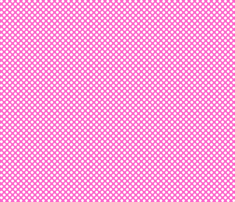 Polka Dots pink x white fabric by mezzo on Spoonflower - custom fabric