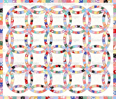 30_s_Inspired_Double_Wedding_Ring_Quilt