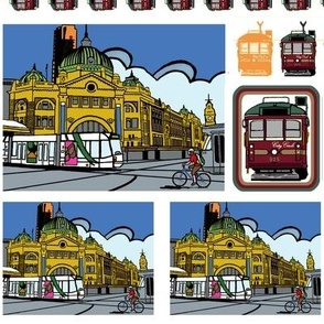 Flinders Street Station Patches