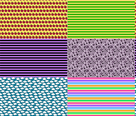 Doll Sock Prints fabric by dollproject on Spoonflower - custom fabric