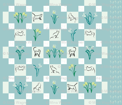 Puss-in-the Garden-quilt