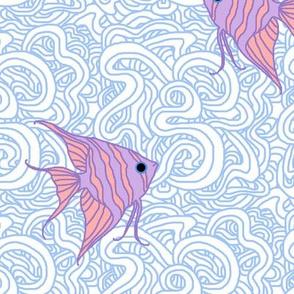 Weird Fishes (Angelfish Choked)