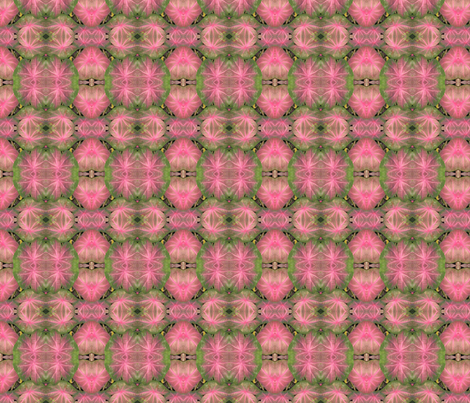 Pink and Green fabric by gail_deleon on Spoonflower - custom fabric
