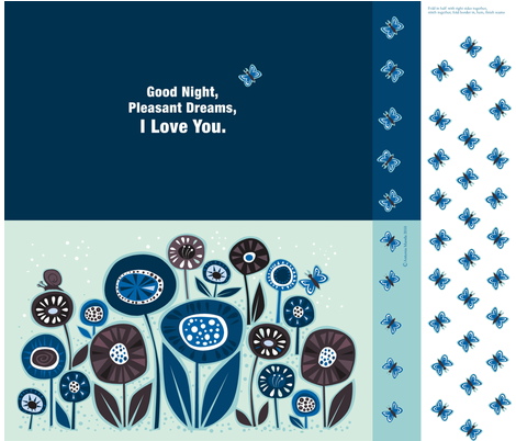 goodnight_pillow fabric by antoniamanda on Spoonflower - custom fabric