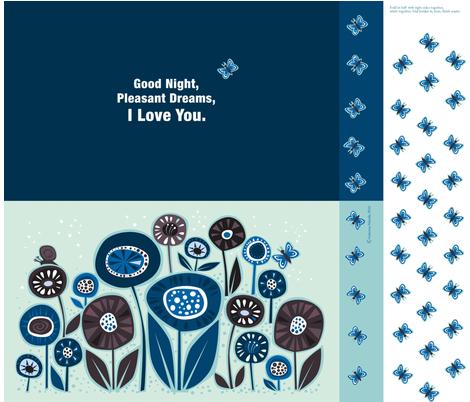 goodnight_pillow fabric by antoniamanda on Spoonflower - custom fabric
