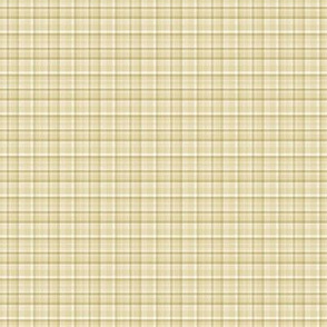 Spring Plaid - gold
