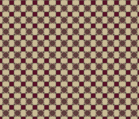 Baroque Faux Plaid