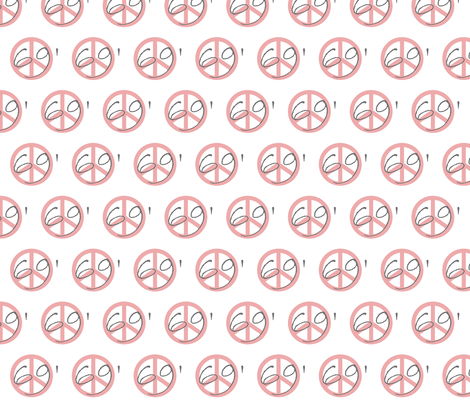 69' Peace fabric by paragonstudios on Spoonflower - custom fabric