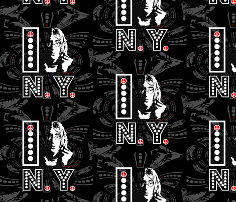 JOHN ORIGINAL I New York fabric by paragonstudios on Spoonflower - custom fabric