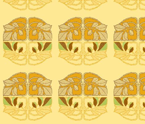 nouveau3 fabric by femmenouveau on Spoonflower - custom fabric