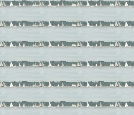 Sailboat Race fabric by tamarack on Spoonflower - custom fabric