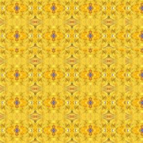 Blue Beast Running Honey Pattern