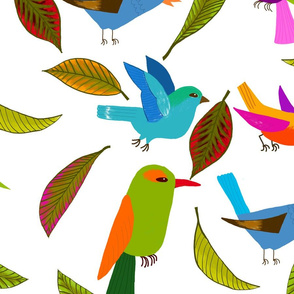 oiseau du paradis XL