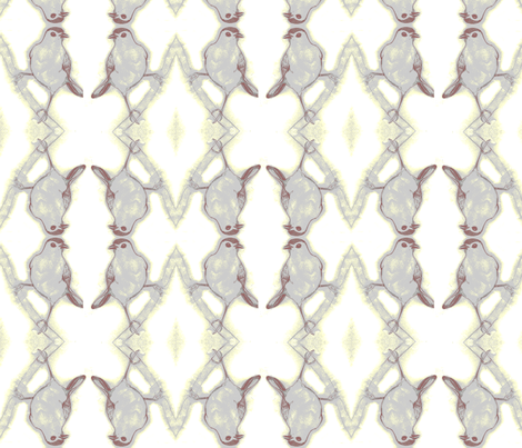 catbird fabric by artbybaha on Spoonflower - custom fabric