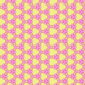 Carnaby Pink And Yellow