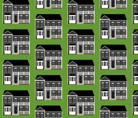 My New House fabric by jesseesuem on Spoonflower - custom fabric