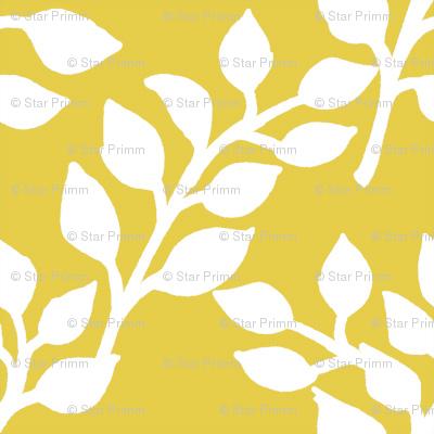 Flora Mustard Yellow