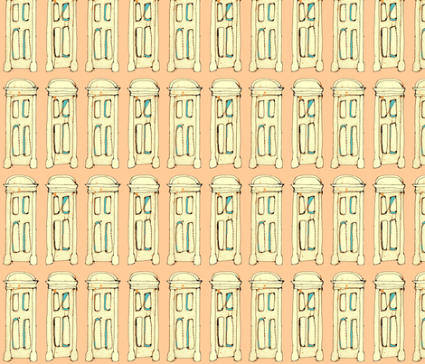 doors  fabric by mummysam on Spoonflower - custom fabric