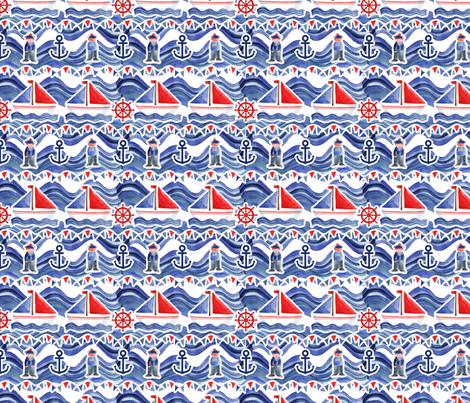 A_little_sailor_M fabric by nadja_petremand on Spoonflower - custom fabric