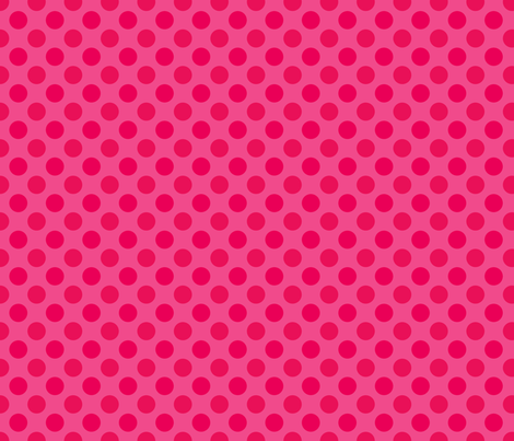 Pink Spot fabric by spellstone on Spoonflower - custom fabric