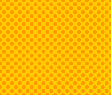 Yellow Spot fabric by spellstone on Spoonflower - custom fabric