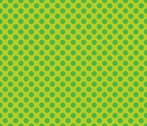 Lime Green Spot fabric by spellstone on Spoonflower - custom fabric
