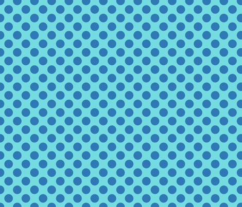Light Blue Spot fabric by spellstone on Spoonflower - custom fabric