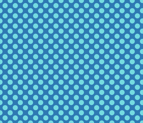 Mid Blue Spot fabric by spellstone on Spoonflower - custom fabric