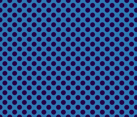 Dark Blue Spot fabric by spellstone on Spoonflower - custom fabric