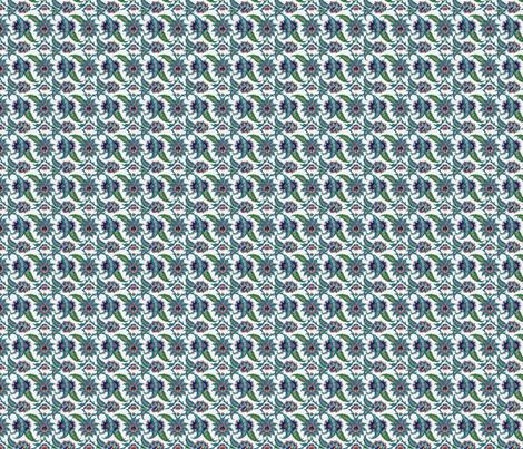 TurkishFoliageSquare fabric by zephyrlondon on Spoonflower - custom fabric