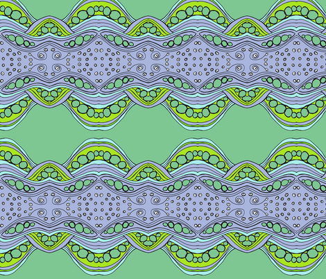 Living Sea fabric by zazandmo on Spoonflower - custom fabric