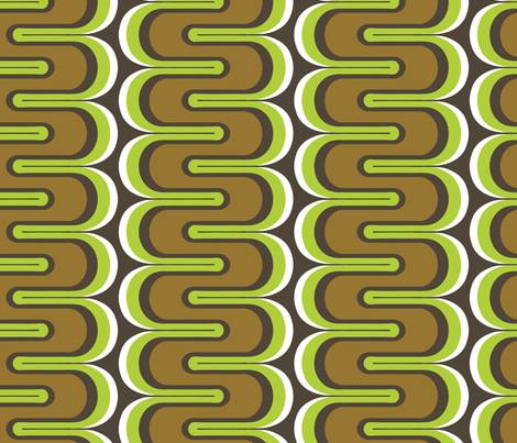 Down Spout Earth fabric by thirdhalfstudios on Spoonflower - custom fabric