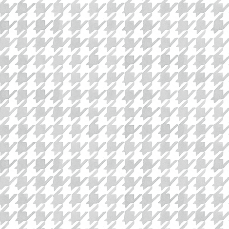 Houndstooth - Silver fabric by pattysloniger on Spoonflower - custom fabric