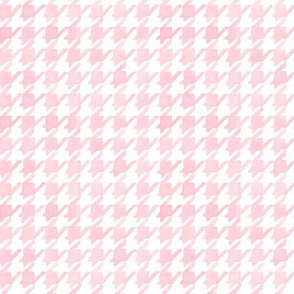 Houndstooth - Soft Pink