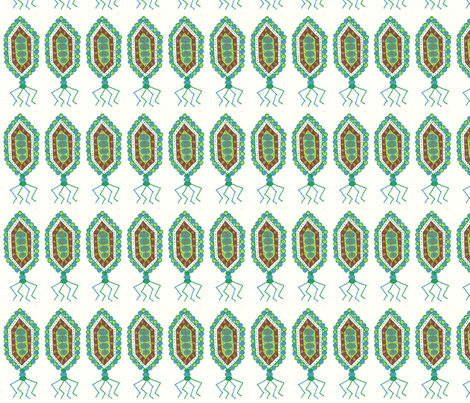 earthyvirus1 fabric by jkayep2 on Spoonflower - custom fabric