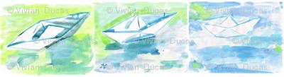 C'EST LA VIV™ Summer Breeze Collection_PaperBoats