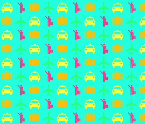courtlyons's shape glyph fabric by courtlyons on Spoonflower - custom fabric