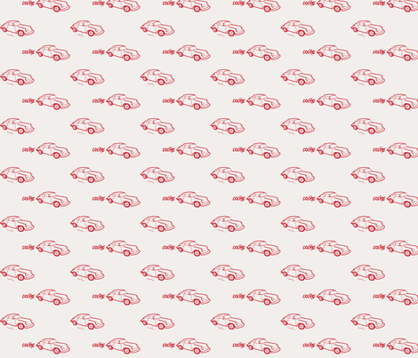 Coche fabric by mandyd on Spoonflower - custom fabric