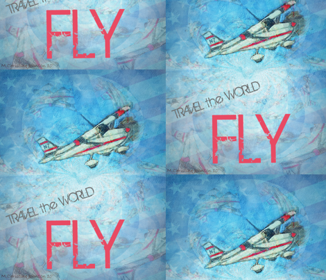 FLY fabric by paragonstudios on Spoonflower - custom fabric