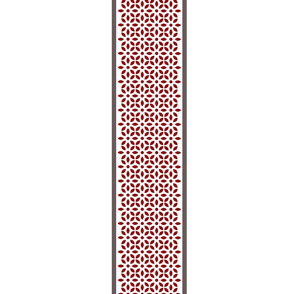 Edge For Cheater Quilt - Red